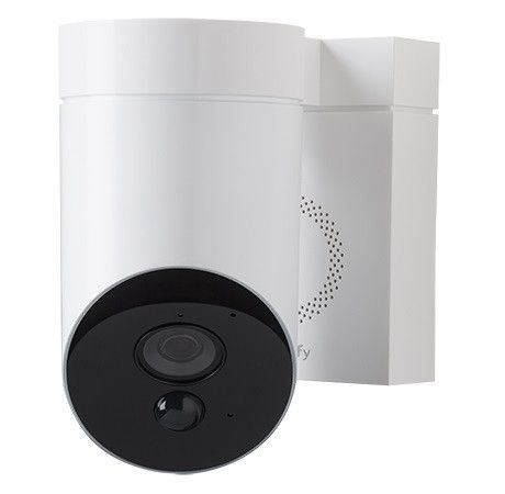 Somfy Outdoor Beveiligingscamera - Wit