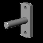 Stalen Lagerpen 12 mm
