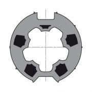 Meenemer & adapter buis 63 Somfy