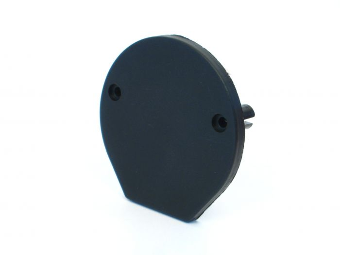 Kunststof eindkapje voor buis 65 mm