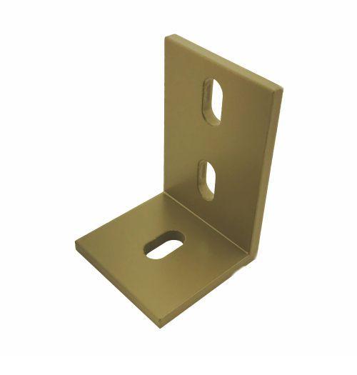 Hoekbeugel aluminum 75 x 50 mm