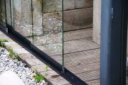 Schuifbare glaswand type: Seram 4-delig